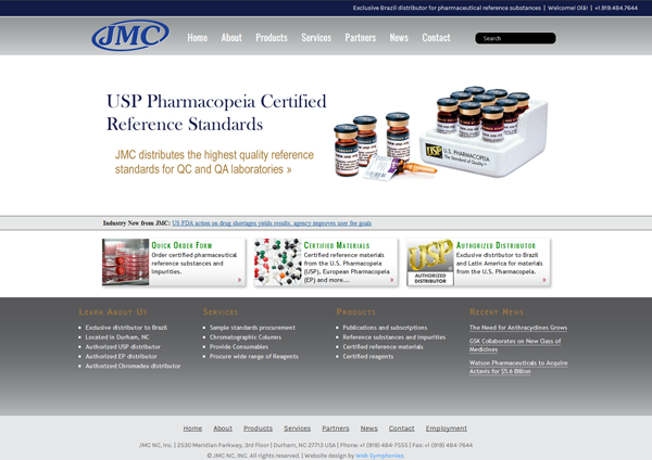 JMC Web Design Screenshot