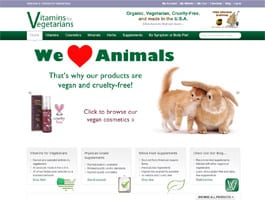 vitamins-for-vegetarians-ecommerce-website