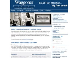 waggoner-law-firm-website