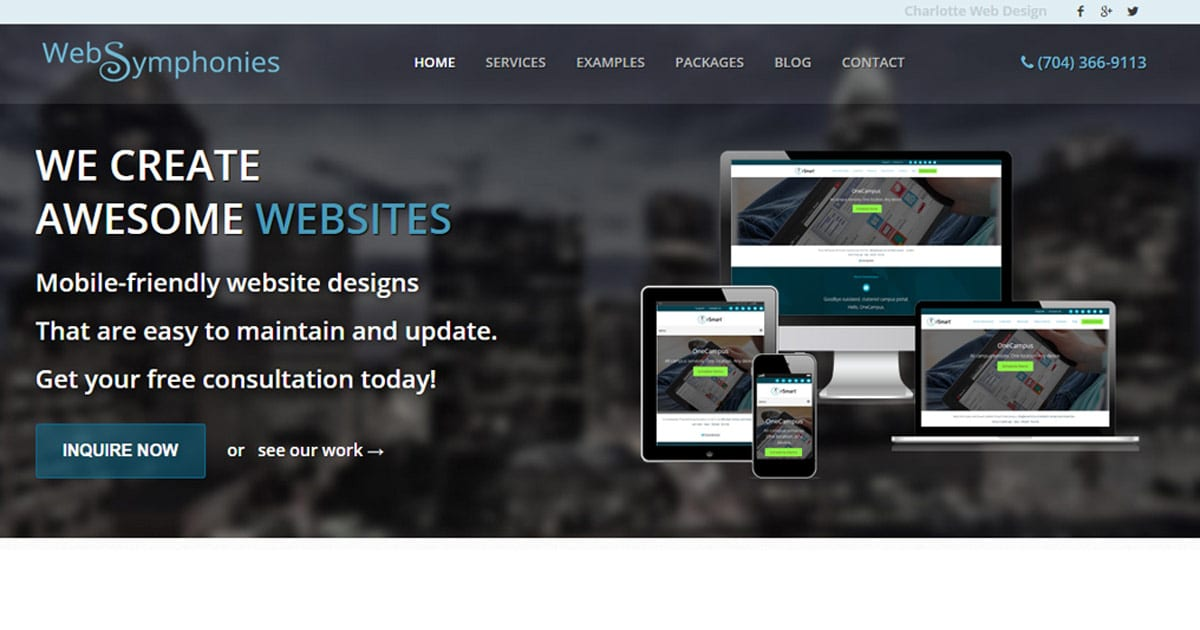 Charlotte Web Design | Website Development Charlotte NC