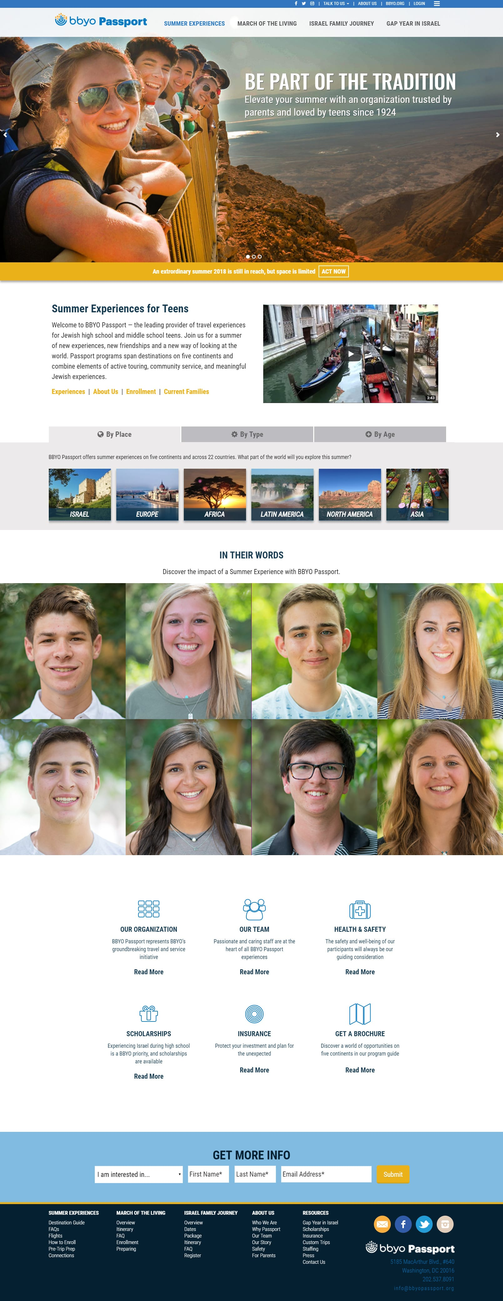 BBYO Website