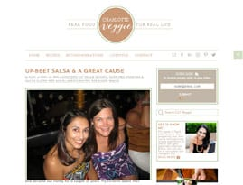 Charlotte Blogger Website Design
