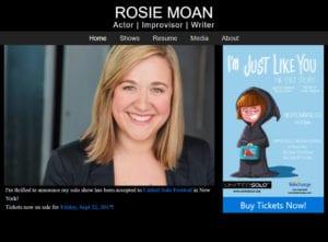 Rosie moan web development