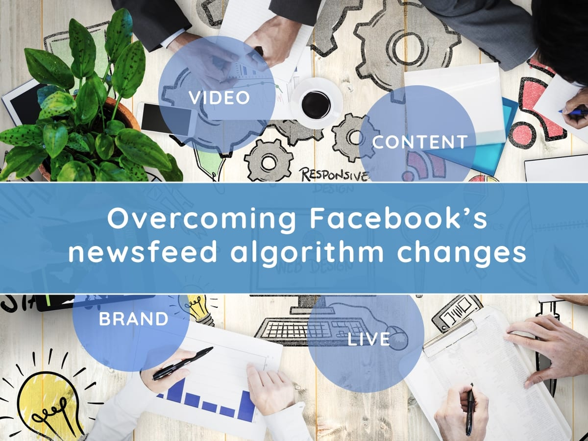 Adjusting to Facebook's newsfeed algorithm change